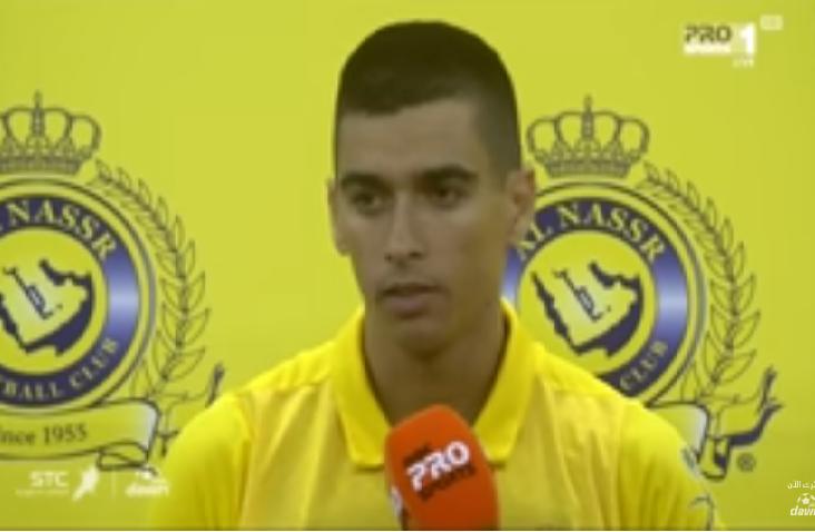 بالفيديو.. هذا ماقاله لاعب النصر ليوناردو بعد التعادل مع الفيصلي!