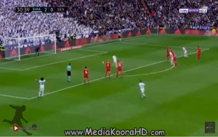 بالفيديو.. ريال مدريد يسحق إشبيلية بخماسية في الدوري الإسباني