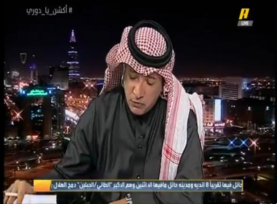 """بالفيديو..عادل التويجري:يسخر من الأندية التي لا تمتلك الرخصة الآسيوية..ورد """"غير متوقع"""" من عبدالله بن زنان"""