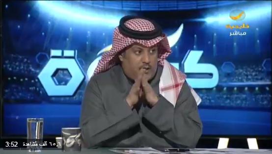 بالفيديو..العجمة : تألق لاعب واحد من الموهوبين مع الأخضر يكفيني