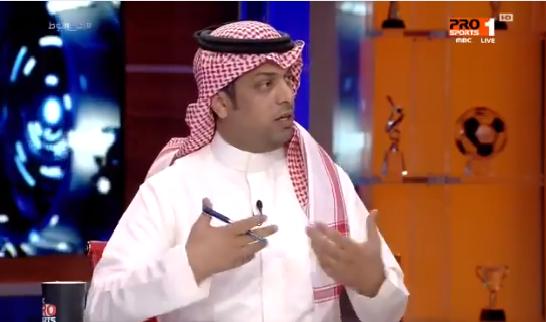 """بالفيديو.. عبدالله العبيد : صوت الإدارة الأهلاوية """"غير موجود"""" .. والحميدي يتساءل!"""