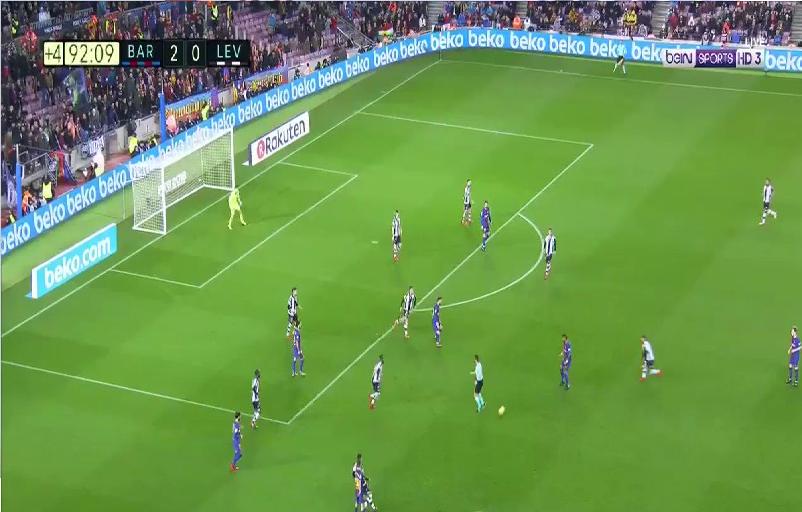 بالفيديو.. برشلونة يحلق في صدارة ترتيب الدوري الإسباني بفوز سهل على ليفانتي