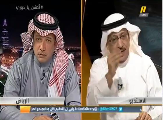 """بالفيديو.. جمال عارف: سبب تراجع الهلال عن مستواه هو """"الطبطبة"""" .. وعادل التويجري يرد!"""