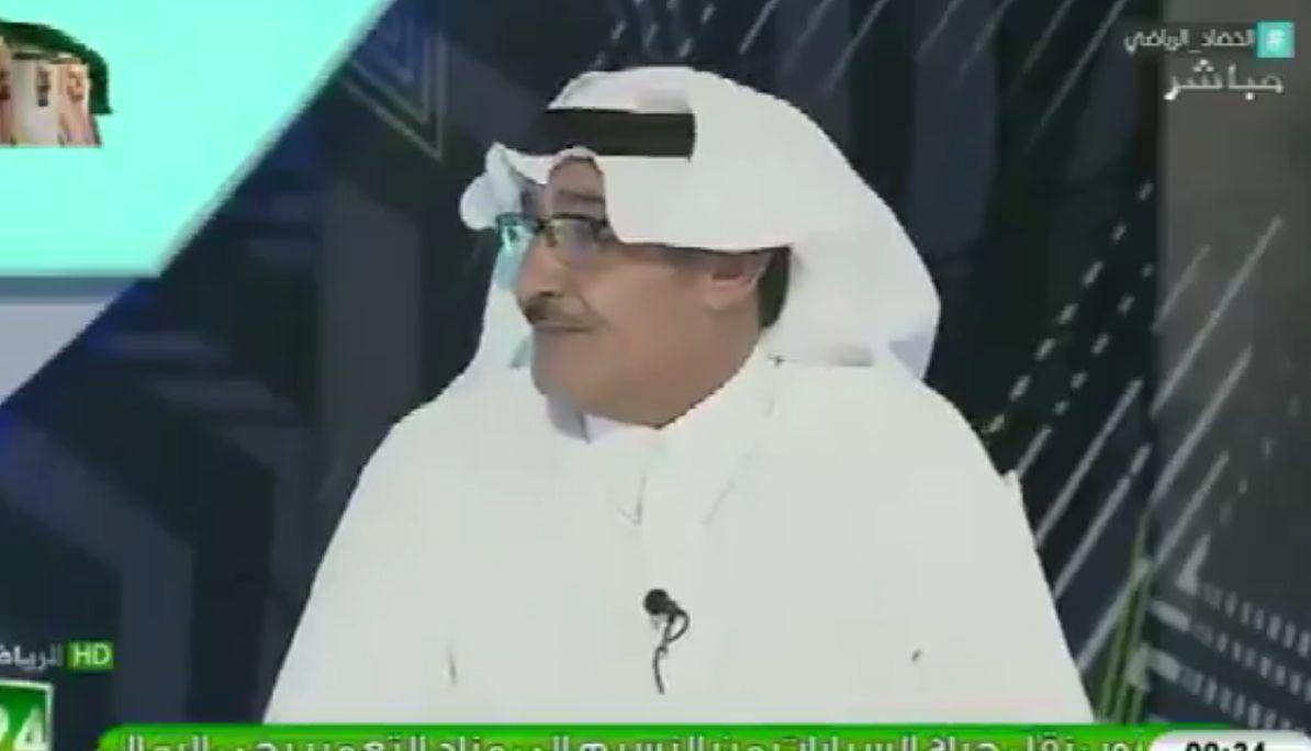 بالفيديو: تعليق مثير من عايد الرشيدي على هزيمة النصر من الباطن
