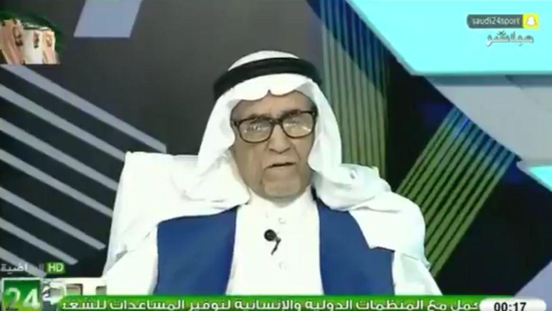 """بالفيديو: عبدالرحمن السماري: النصر كان """"درجة ثانية"""" وقت وجود هذه الأندية في الدوري!"""