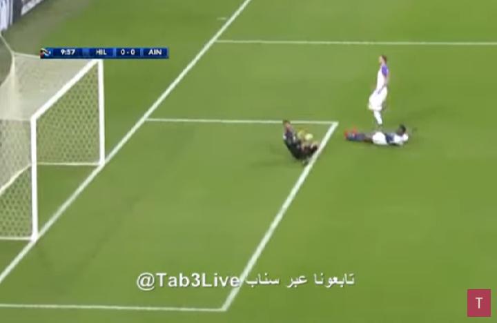 بالفيديو.. المعيوف يتألق بالتصدي لفرصة هدف محقق للعين الإماراتي
