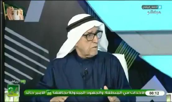 """بالفيديو.. السماري: نتمنى أن نرى هذا الرجل رئيس لنادي الهلال بعد فترة الأمير """"نواف بن سعد""""!"""