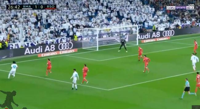 شاهد… أهداف مباراة ريال مدريد وريال سوسيداد في الدوري الإسباني (5-2)