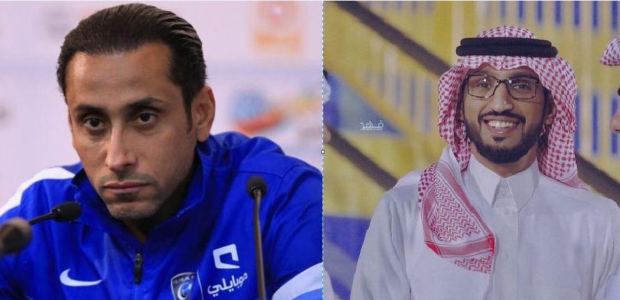 مبارك الشهري يرد على سامي الجابر بتغريدة ساخرة وفيديو مثير..ومغرد يعلق: ما تلومه على حقده على النصر!