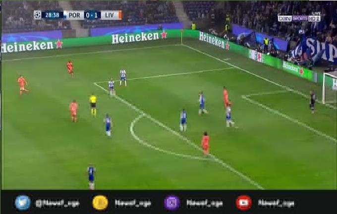 بالفيديو.. محمد صلاح يسجل الهدف الثاني لليفربول في شباك بورتو