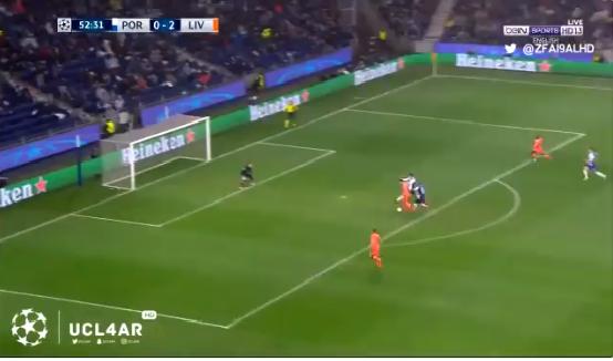 بالفيديو.. ماني يضيف الهدف الثالث لليفربول في مرمى بورتو