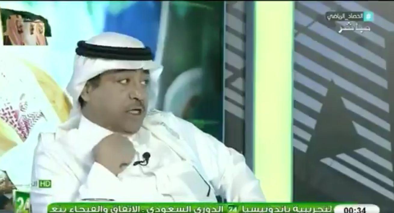 بالفيديو: الطخيم: لو طبقت تقنية الفيديو لانهزم الهلال من النصر..ورد مثير من عبدالكريم الحمد!