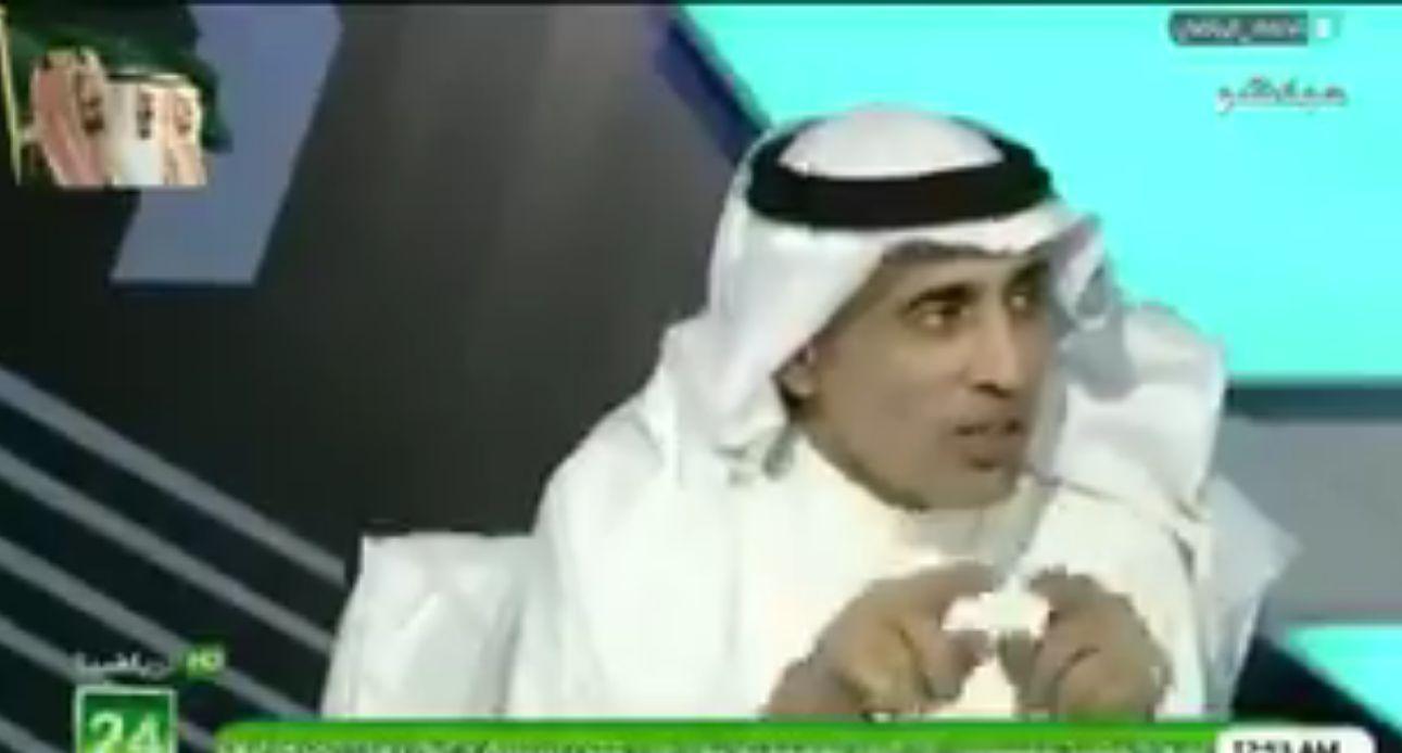 """بالفيديو: سعود السمار:هذا الحارس هو الأفضل """"خبرة"""" في الكرة السعودية !"""