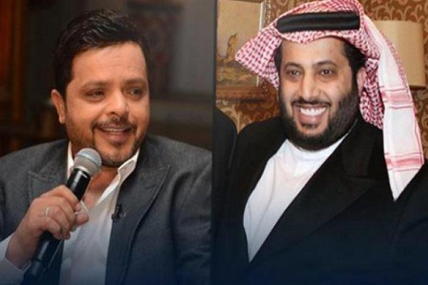 """محمد هنيدي يتحدى تركي آل الشيخ في لعبة """"فيفا""""18 وآل الشيخ يرد: جاهز"""