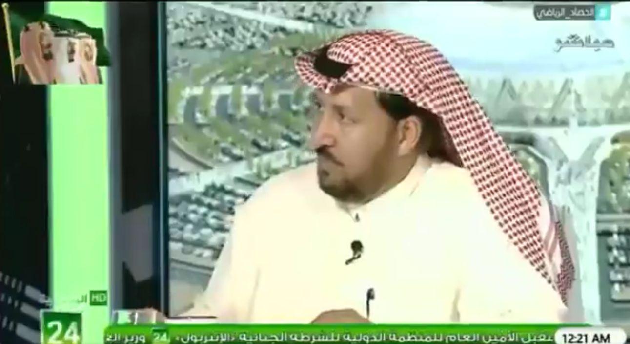 بالفيديو: عبدالمحسن الجحلان: لن يمر لاعب اجنبي في الملاعب السعودية مثل هذا النجم!