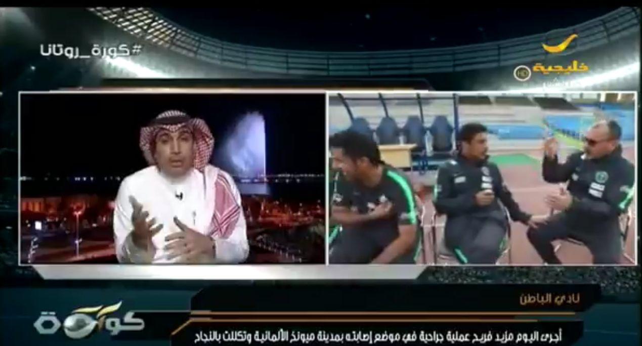 """بالفيديو: حاتم خيمي يوجه رسالة """"مثيرة"""" للفريدي والمولد!"""