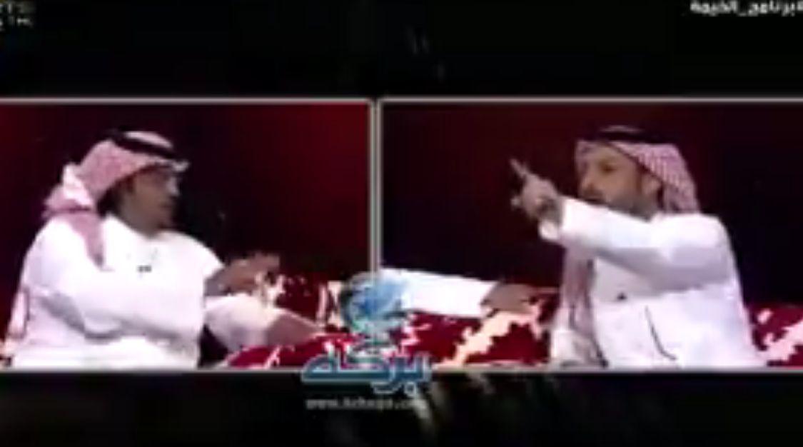 بالفيديو: مشادة كلامية مثيرة بين فواز الشريف وسامي القرشي تشعل مواقع التواصل الاجتماعي!