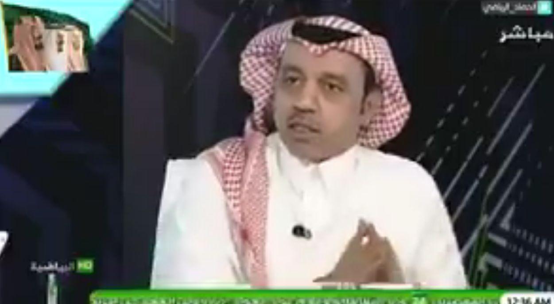بالفيديو:محمد الذايدي: اطالب بتواجد مختصون بلغة الشفايف لجميع اللغات للعمل في لجنة الانضباط