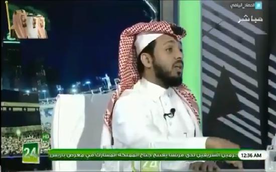 """بالفيديو.. المريسل : تكفون يا هلاليين """"عشان شنبي"""" لا تستفزون عمر السومة.. أنا متحدي علشانكم !"""