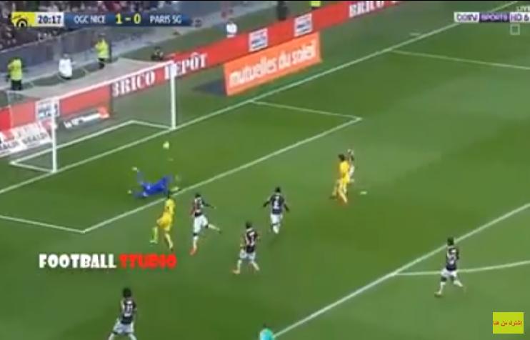 بالفيديو.. سان جرمان يحقق فوزا صعبا على نيس في الدوري الفرنسي