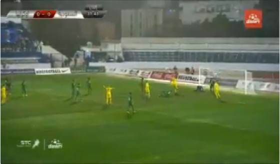 بالفيديو.. المنتخب الأوكراني يسجل الهدف الأول في شباك المنتخب السعودي
