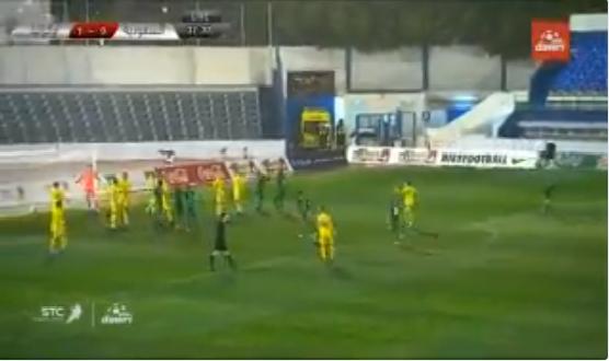 بالفيديو.. فهد المولد يسجل هدف التعادل للمنتخب السعودي في شباك أوكرانيا