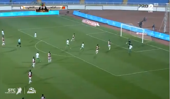 بالفيديو.. حسين المقهوي يسجل الهدف الثالث للأهلي في مرمى الرائد