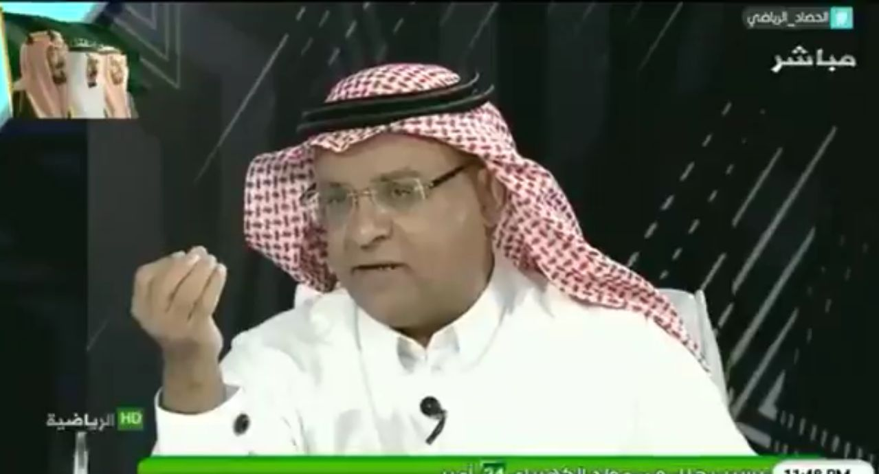 """بالفيديو..سعود الصرامي: """"مانيللي"""" لم يدرب الهلال لأنه قال لا يوجد مقارنة بين الهلال والنصر!"""
