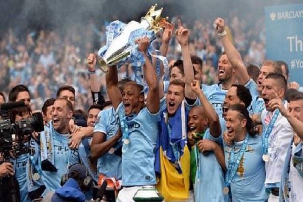 مانشستر سيتي يحقق لقب الدوري الإنجليزي للمرة الخامسة في تاريخه