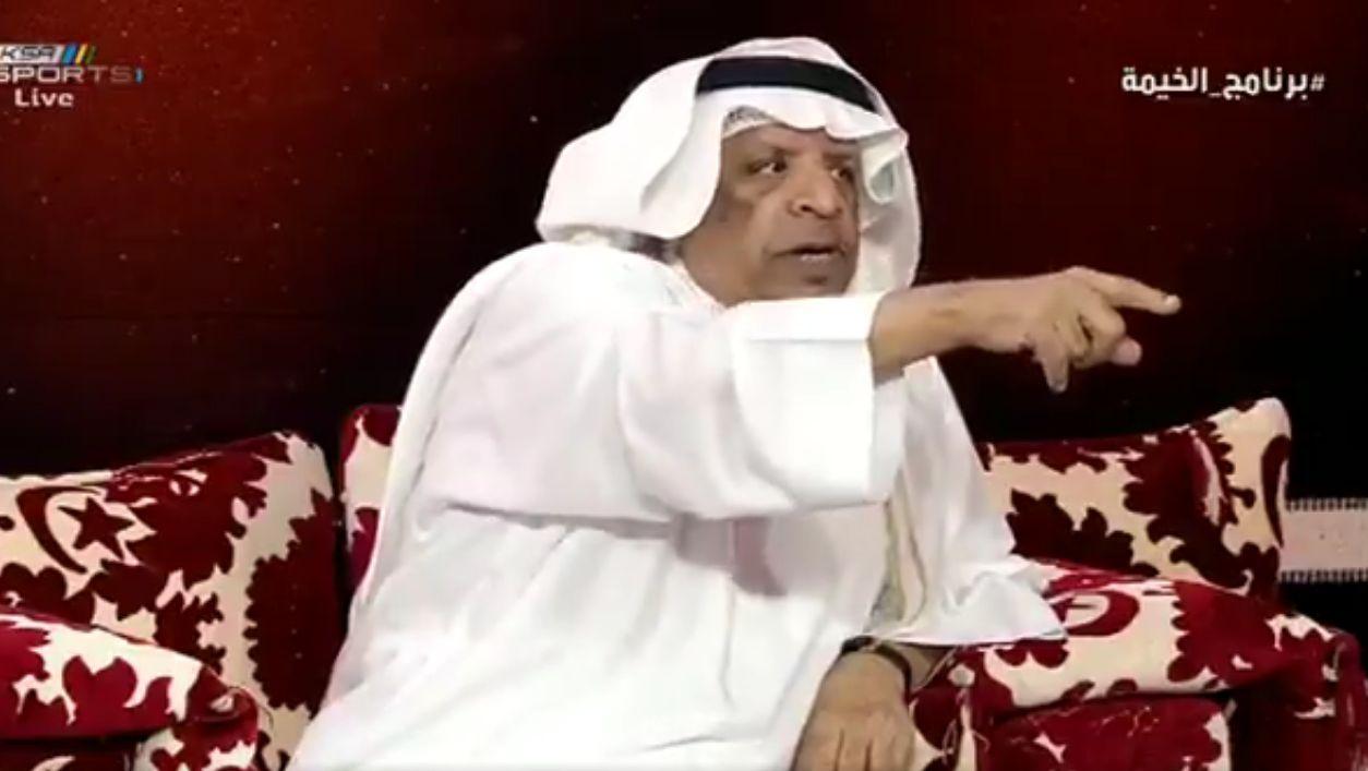 """بالفيديو..خالد قاضي يسخر من جماهير النصر بتعليق """"مثير"""" حول الصدارة..ورد حاسم من الصرامي!"""