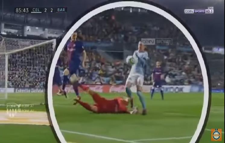 بالفيديو.. هدف باليد في شباك برشلونة يثير جدلا في إسبانيا