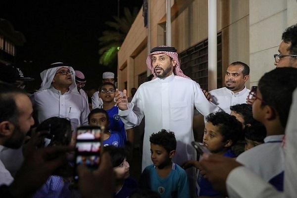 """بالفيديو.. """"الجابر"""" يتحدث عن خططه مع نادي الهلال واللاعبين وخلافات أعضاء الشرف"""
