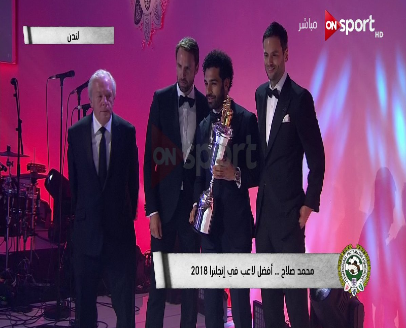 """بالفيديو.. شاهد أول تعليق لـ""""محمد صلاح"""" عقب فوزه بجائزة أفضل لاعب في الدوري الإنجليزي"""