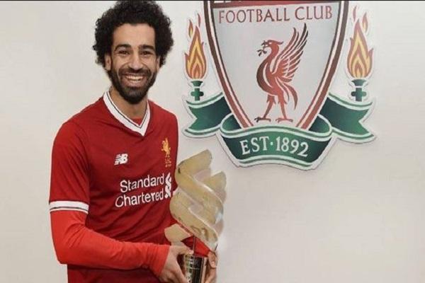 محمد صلاح يتوج بجائزة لاعب الشهر في ليفربول للمرة السابعة