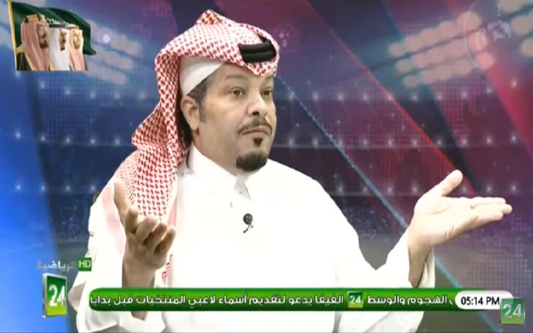 بالفيديو.. نبيل العبودي: هذا اللاعب ليس طموح الهلال!