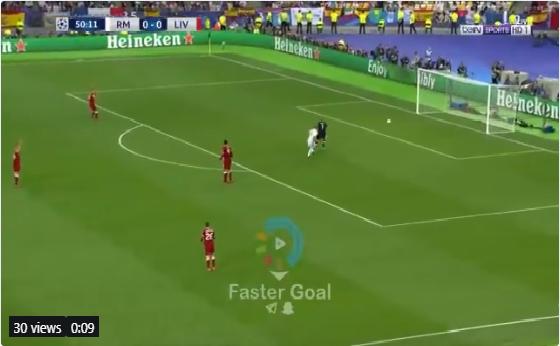 بالفيديو.. بنزيما يسجل الهدف الأول لريال مدريد في شباك ليفربول
