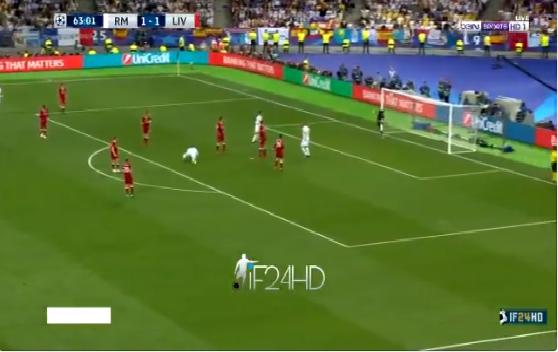 بالفيديو.. بيل يسجل هدف عالمي لريال مدريد في شباك ليفربول
