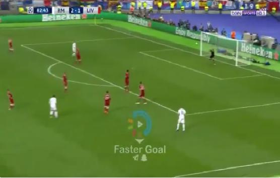 بالفيديو.. بيل يضيف الهدف الثالث لريال مدريد من تسديدة صاروخية