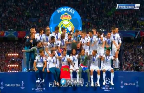 شاهد.. لحظة تتويج ريال مدريد بلقب دوري أبطال أوروبا