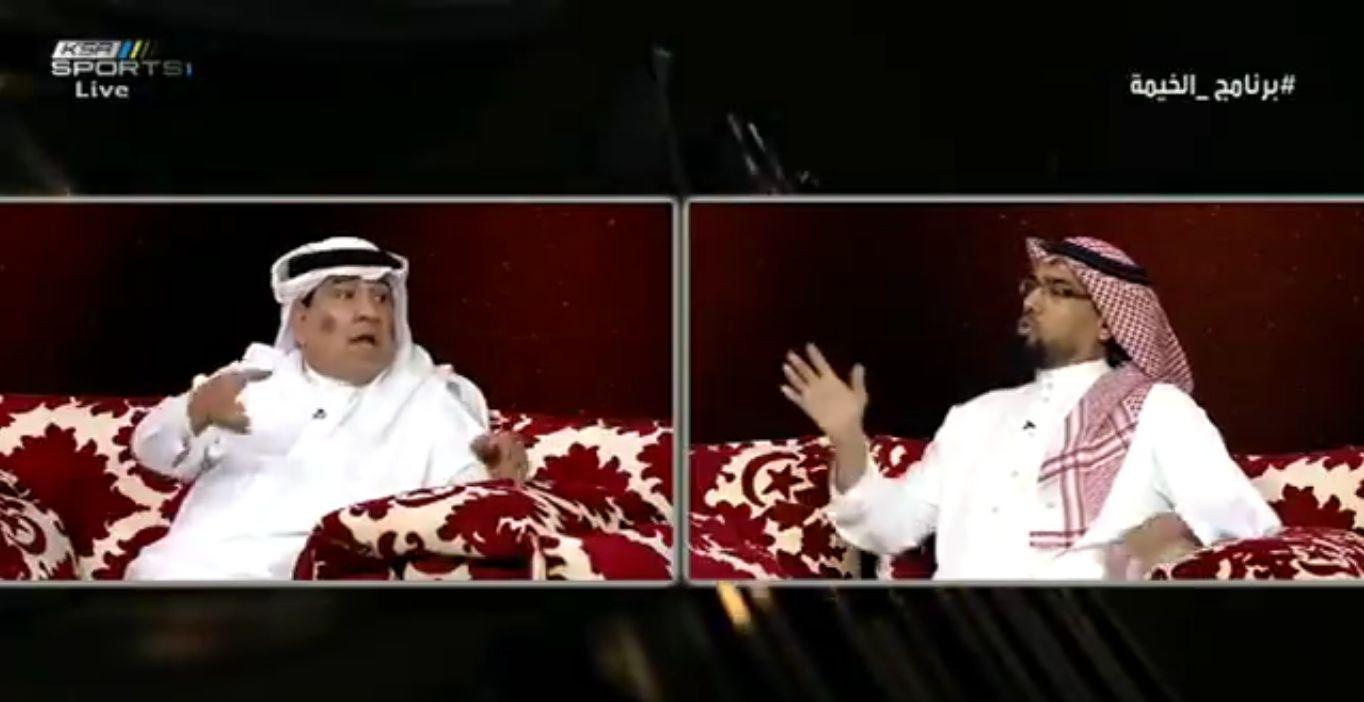 بالفيديو..دباس الدوسري يضع الزهراني في موقف محرج على الهواء!