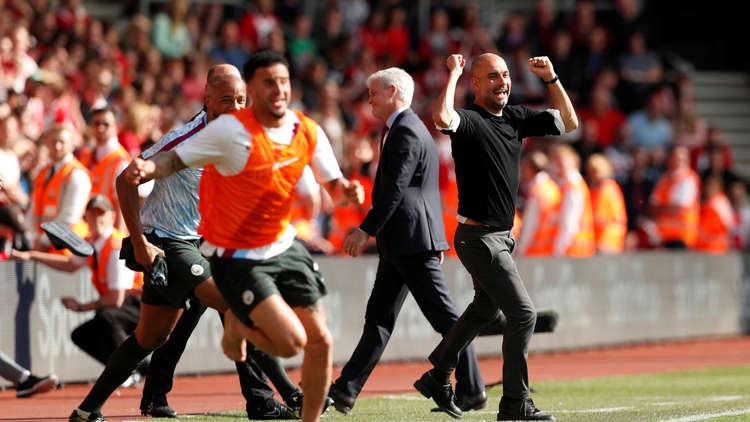 مانشستر سيتي يدخل تاريخ الدوري الإنجليزي بهذا الإنجاز