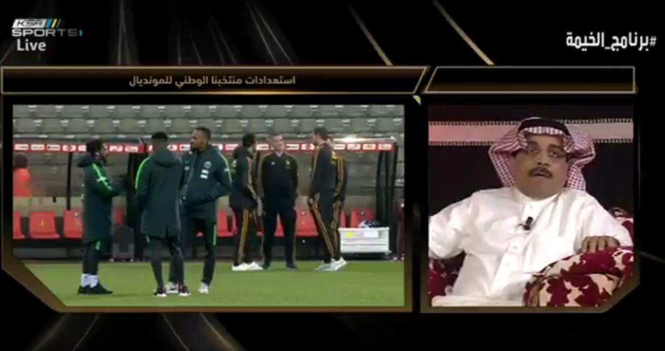 بالفيديو..عبدالعزيز شرقي: الإعلام السعودي لن يقبل هزيمة المنتخب في هذه المباراة على الإطلاق!