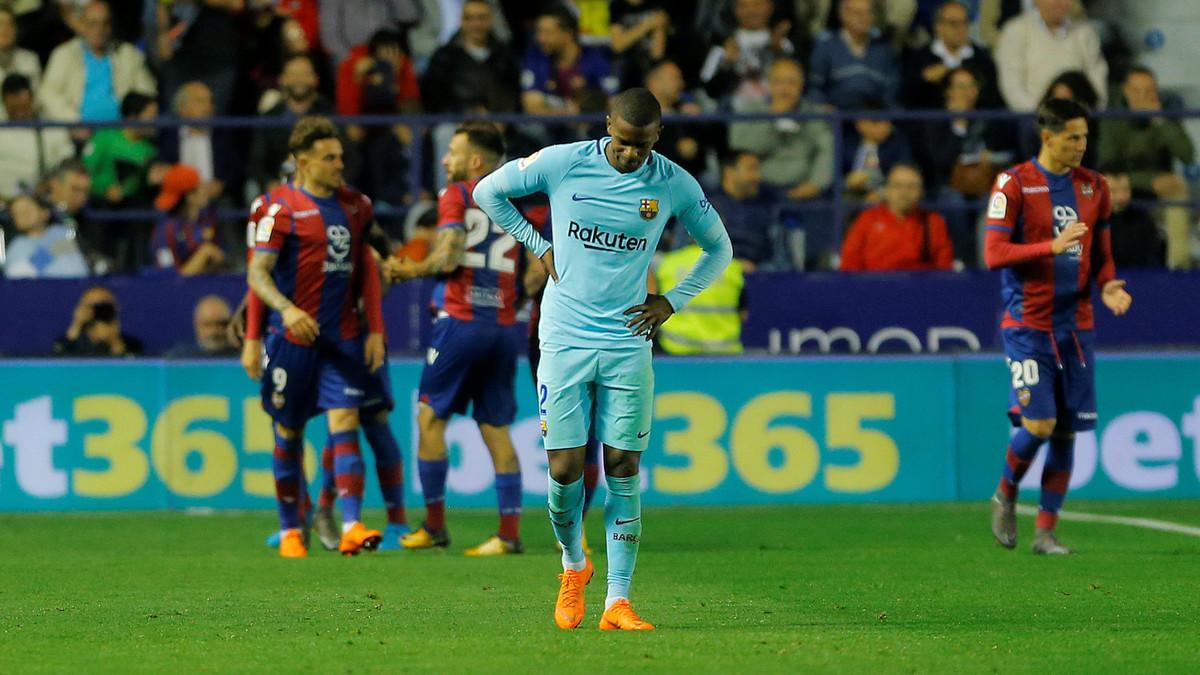 شاهد.. ليفانتي يسحق برشلونة بخماسية.. ويوقف رقمه القياسي