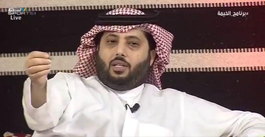 """بالفيديو..آل الشيخ:من الطبيعي أن لا نعامل الأندية بنفس المستوى والأهلي فئة """"A"""""""