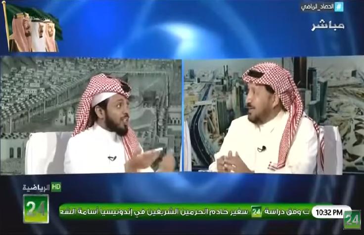 بالفيديو.. المريسل لـ عبدالمحسن الجحلان: هل الهلال هو أغنى نادي؟!