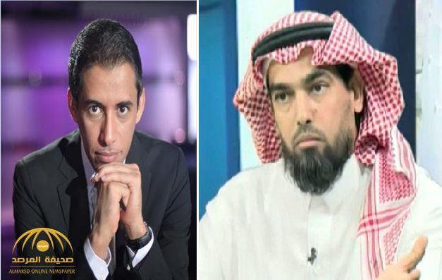 """دباس الدوسري """"يجلد"""" بتال القوس بسبب ماجد عبدالله!"""