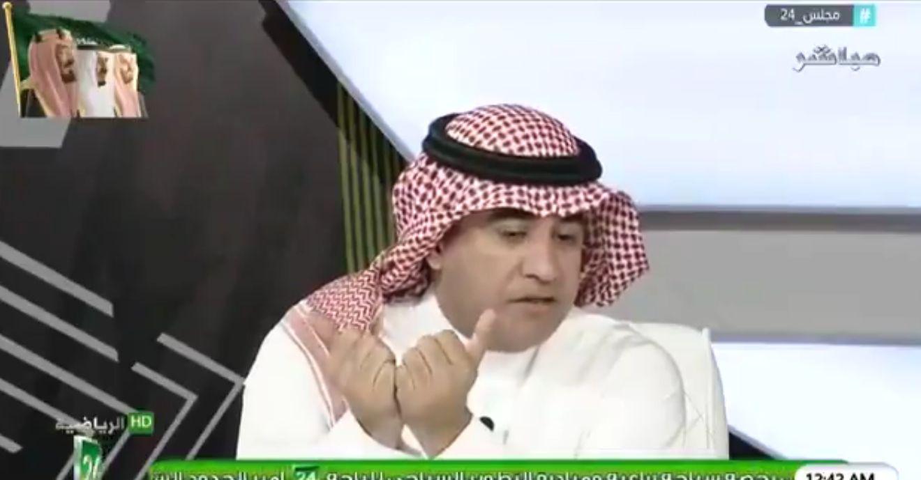 بالفيديو..محمد الغامدي: هذا اللاعب جاء إلى النصر بأكبر رقم في تاريخ الكرة السعودية !