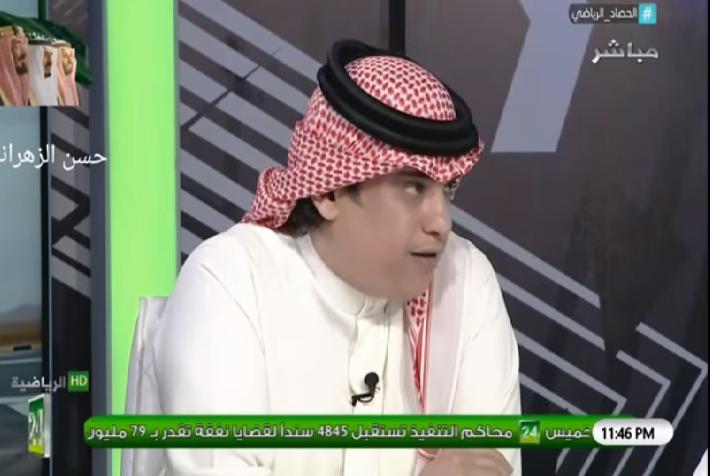 بالفيديو.. الشعلان: المرداسي ساعد الشباب في الفوز على النصر بمباراة السوبر!