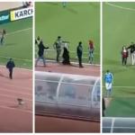 ظاهرة غريبة تحدث لأول مرة : مشجعات أردنيات يقتحمن ملعب عمان الدولي بسبب هزيمة فريقهن- فيديو