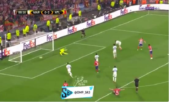 بالفيديو.. أتلتيكو مدريد يسجل الهدف الثالث في شباك مارسيليا